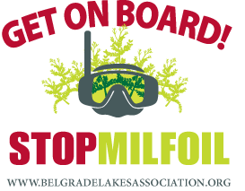 Get on Board! Stop Milfoil - www.BelgradeLakesAssociation.com