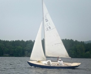 Minuet sailboat in GPYC's Milfoil Regatta 2016 race